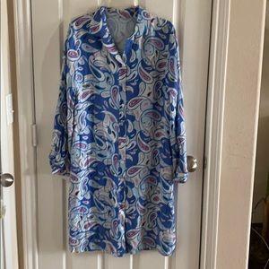 Dresses & Skirts - Raw Silk Paisley Print Dress #61